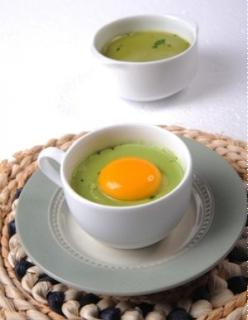 Bánh trứng trà xanh