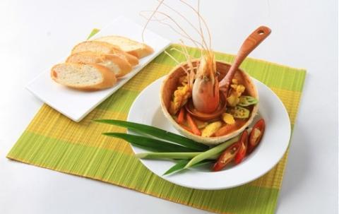 Hải sản cà ri dừa