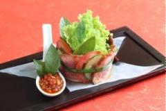Salad bò Úc