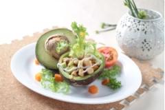 Salad bơ kiểu Nga