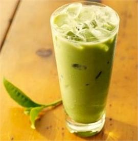 Latte trà xanh
