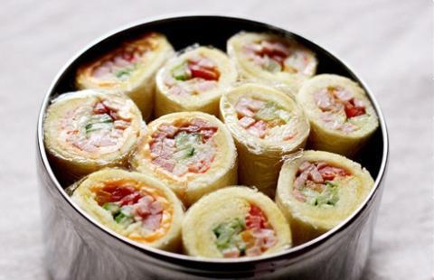 Sushi bánh mì cuộn