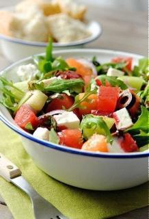 Salad dưa hấu cay