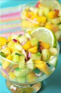 Salad dưa xoài