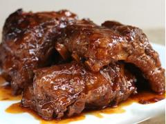 Sườn hầm sốt BBQ