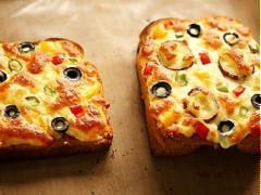 Pizza khoai lang