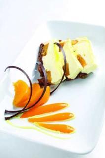 Bánh Socola đào Phô mai