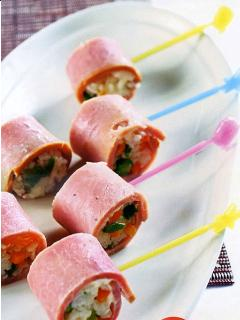 Cơm cuộn Jambon