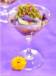 Salad cà tím