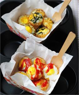 Trứng cút nướng rong biển