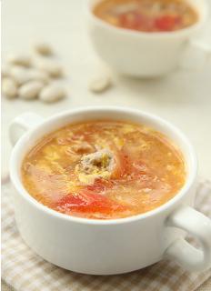 Canh cà chua trứng
