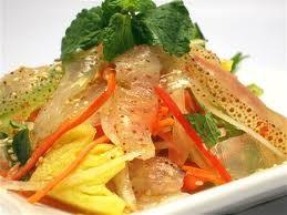 Salad sứa chua cay