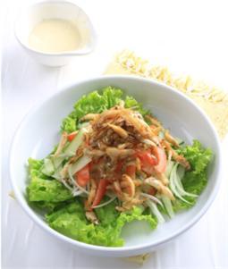Salad cá cơm