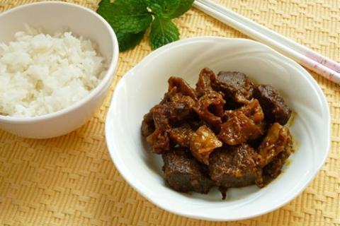 Bò kho cà ri khô