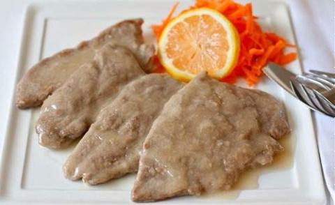 Thịt bê nấu bột ngô