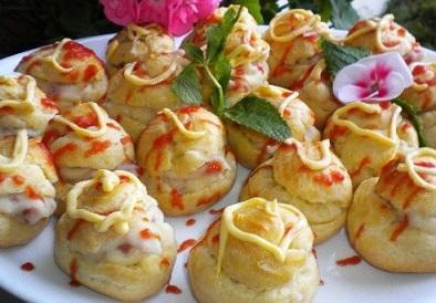 Bánh su nhân Jambon