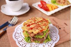 Bánh burger bò