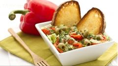 Salad cần tây mix ớt chuông