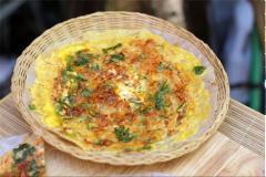Bánh tráng trứng nướng