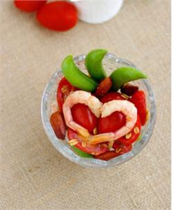 Salad tôm cà chua
