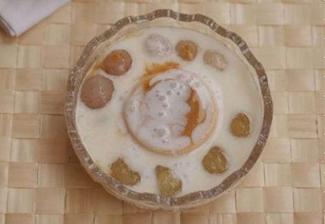 Sữa chua caramel thập cẩm