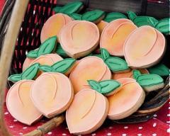 Bánh cookies quả đào