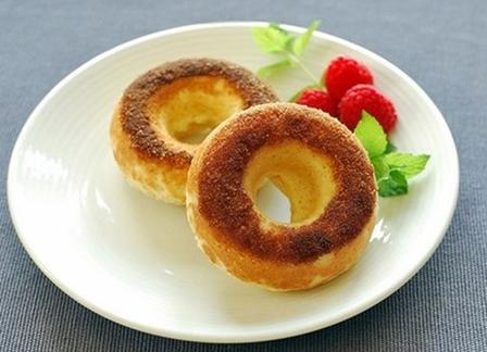 Bánh Donut quế đường