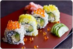 Sushi cuộn bơ