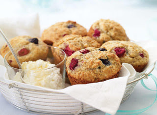 Bánh Muffin việt quất