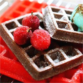 Bánh Waffle Cacao