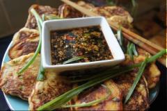 Bánh xèo hải sản kiểu Hàn