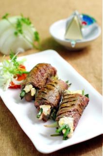 Bò cuộn Phô Mai