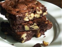 Brownie Chocolate hạnh nhân