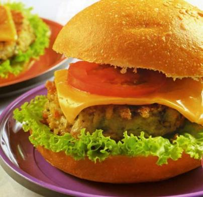 Burger Nấm