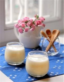 Mousse xoài chanh leo sữa chua