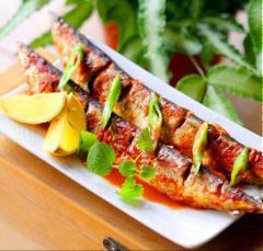 Cá nục nướng ớt kiểu Hàn