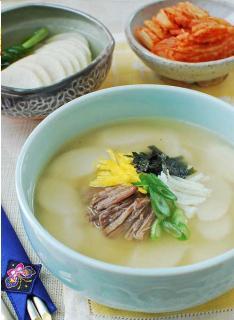 Canh bánh gạo kiểu Hàn