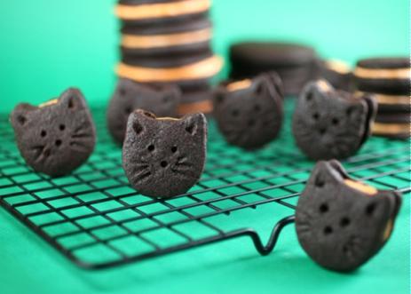 Bánh Oreo mèo nhân cam