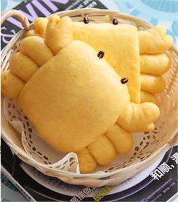 Bánh bao hình con cua