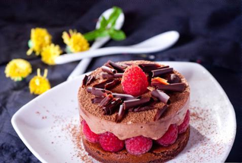 Chocolate Mouse Dâu tây