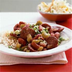 Cơm trộn đậu đỏ