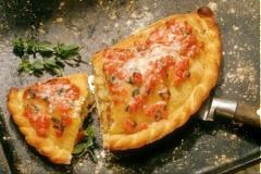 Pizza bánh gối