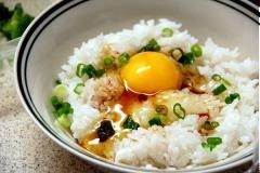 Cơm trộn trứng kiểu Nhật