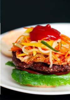 Hamburger kiểu Hàn