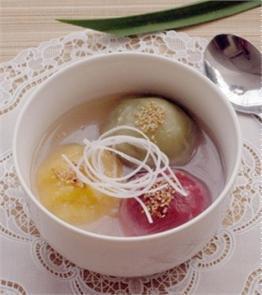 Bánh chay kiểu Hàn