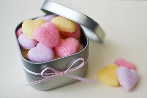 Kẹo đường trái tim