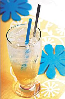 Soda gừng mật ong
