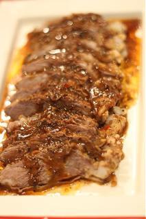 Bò hầm sốt tiêu đen