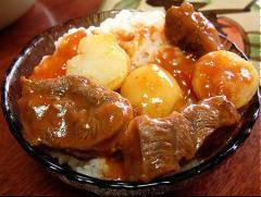 Súp bò khoai tây