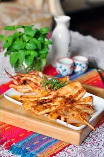 Mực nướng Hàn Quốc